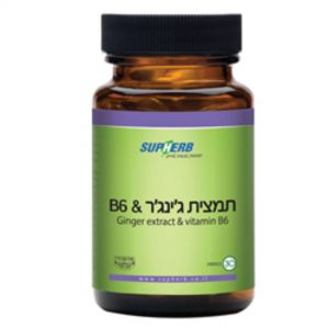 SUPHERB GINGER EXTRACT&VITAMIN B6