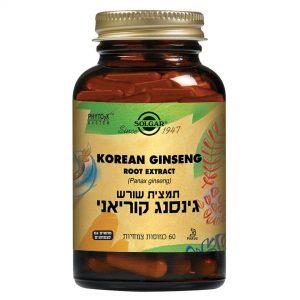SOLGAR KOREAN GINSENG 60 T